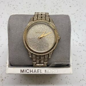 Michael Kors Lauryn Total Glitz All Over Crystals